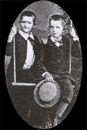 Ralph and Schyler Livingston, sons of William.